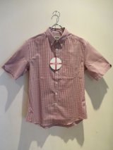 ENGLATAILOR by GB (Half Sleeve B.D. Shirt) Red Check