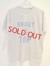 ENGLATAILOR by GB × uniform experiment (T-Shirt) Gray Body × Blue Print