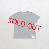 "GROK LEATHER ""THE W.O.L"" (POCKET TEE) Color:Black"