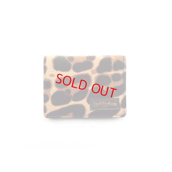 画像1: Lewis Leathers (LEATHER CARD CASE) Color:Leopard