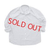 """Porter Classic """"ROLL UP GINGHAM CHECK SHIRT"""" Color:Navy"""